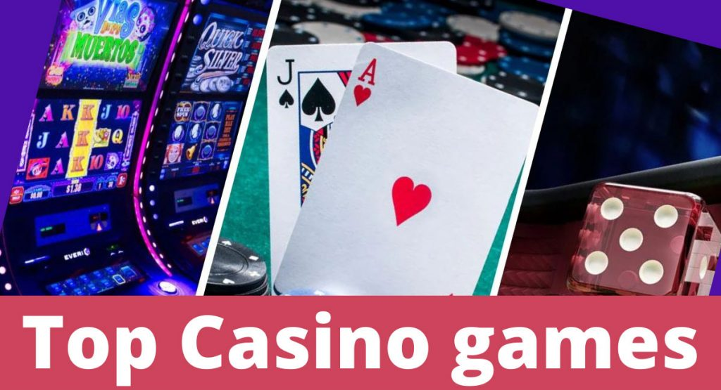Top Recommended Casino games that will fantasize your online gaming experience