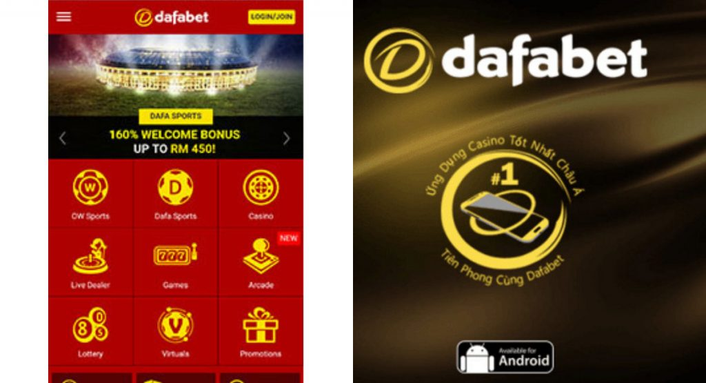 Dafabet downloaded for most Android and iOS gadgets