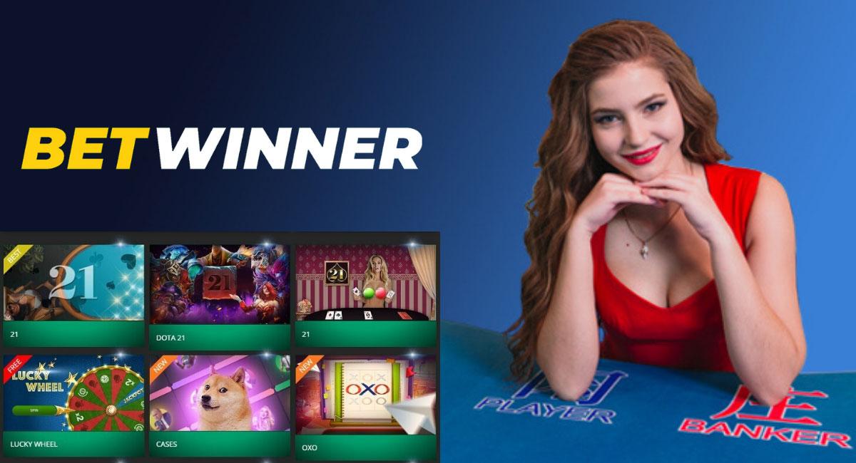 Betwinner casino game