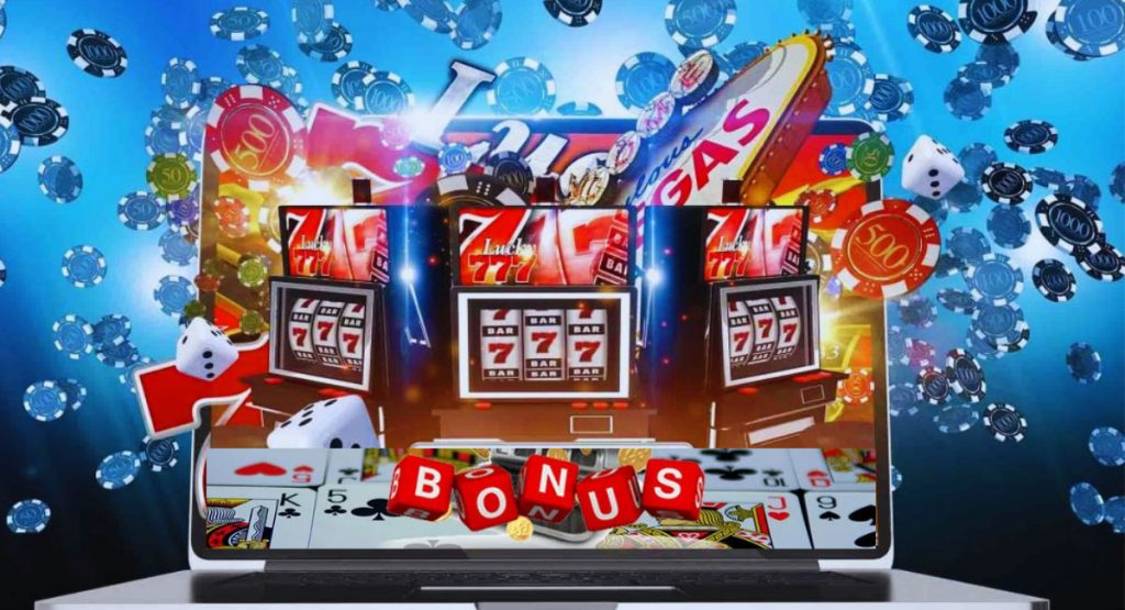 Bonuses provided by various online casinos