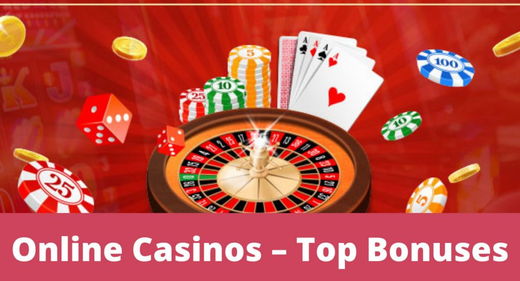Top Bonuses Provided by Online Casinos