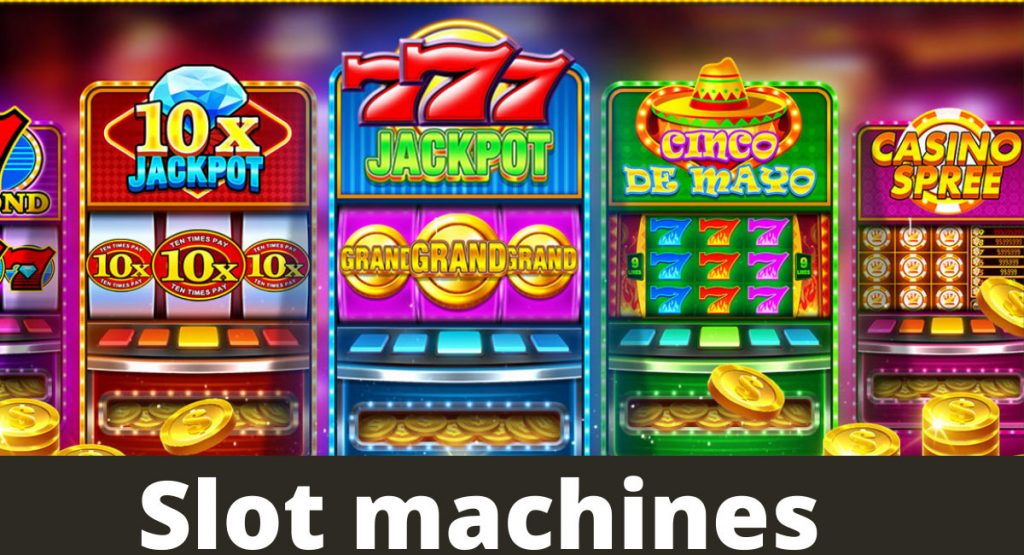Slot machines have simpler rules and without any sort of complications